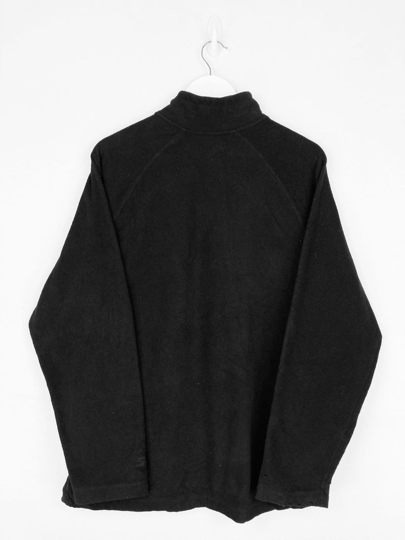 Vintage Starter 1/4 Zip Fleece Sweater L - Black - ENDKICKS
