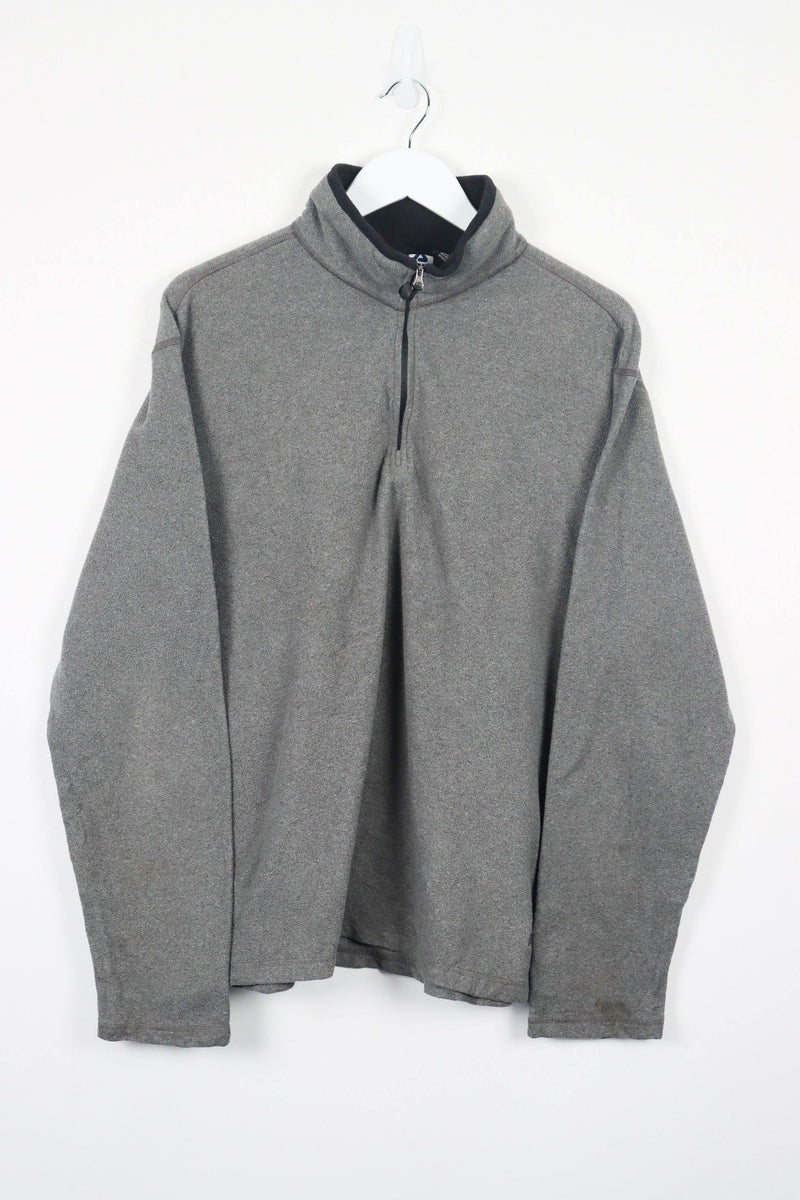 Vintage Fila 1/4 Zip Fleece Sweater L - Grey - ENDKICKS