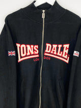 Vintage Lonsdale Logo Sweater S - Black - ENDKICKS