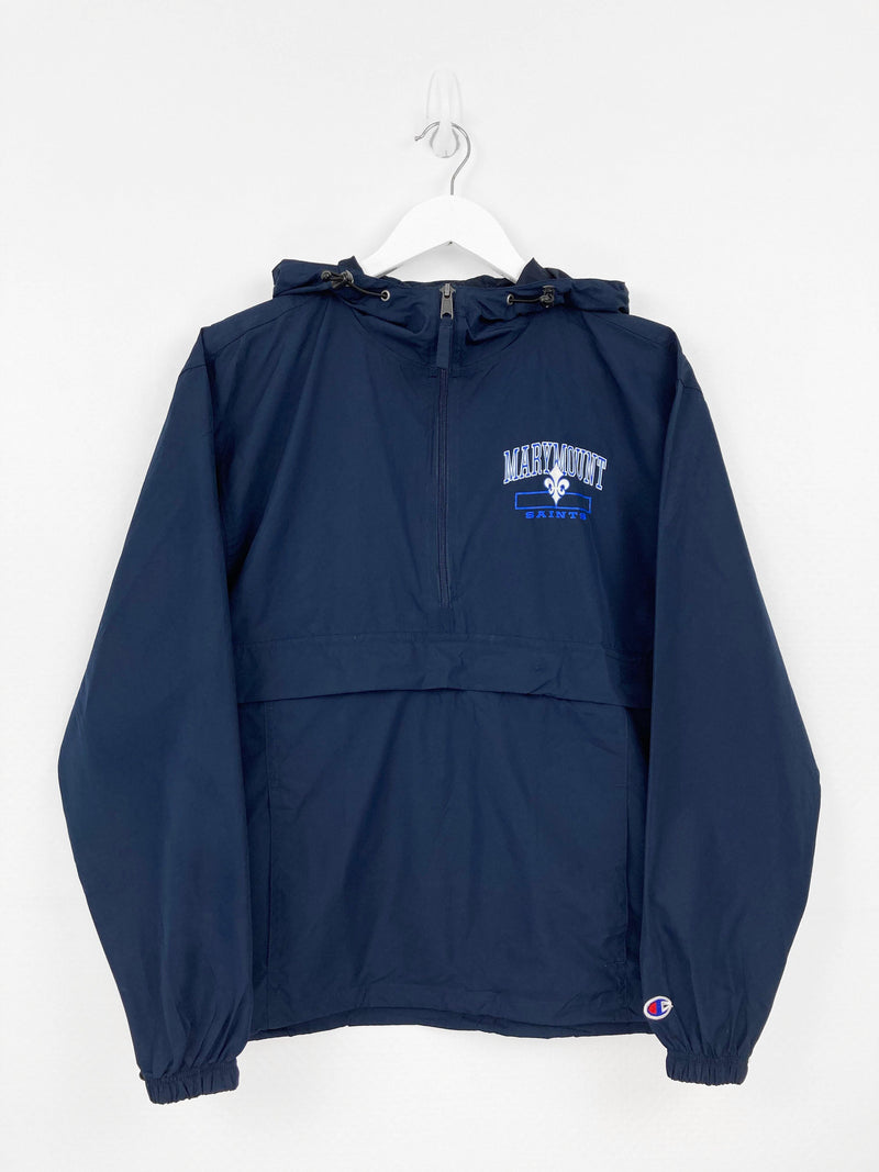 Vintage Champion Saints Track Top XS - Blue