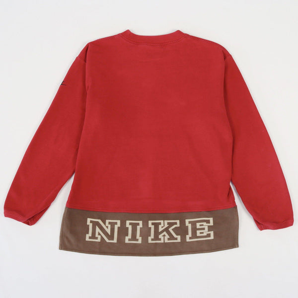 Vintage Nike Logo Sweater XL - Red