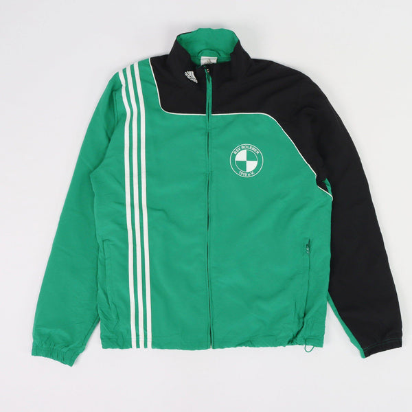 Vintage Adidas Logo Track Top L - Green