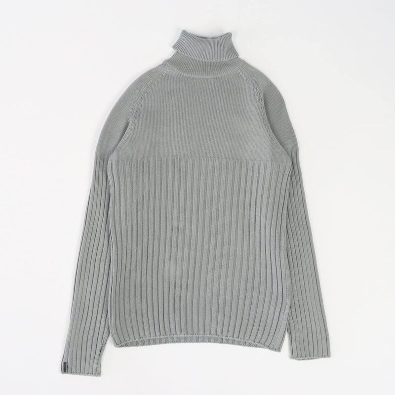 Vintage Puma Turtleneck Sweater M - Grey - ENDKICKS