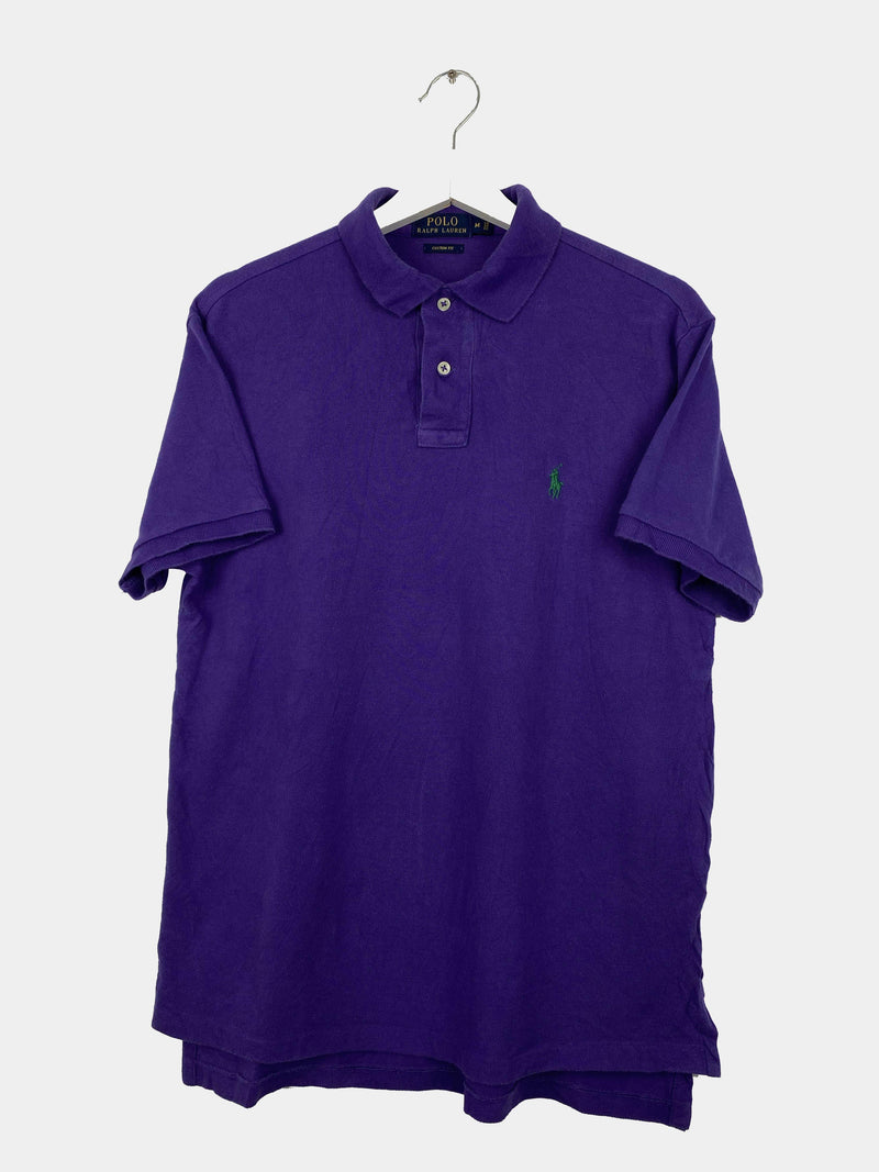 Vintage Ralph Lauren Polo Shirt M - Purple