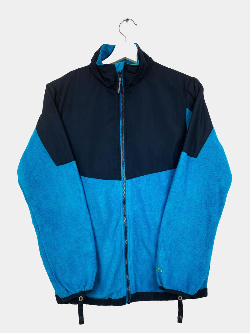 Vintage Champion Fleece Jacket S - Blue
