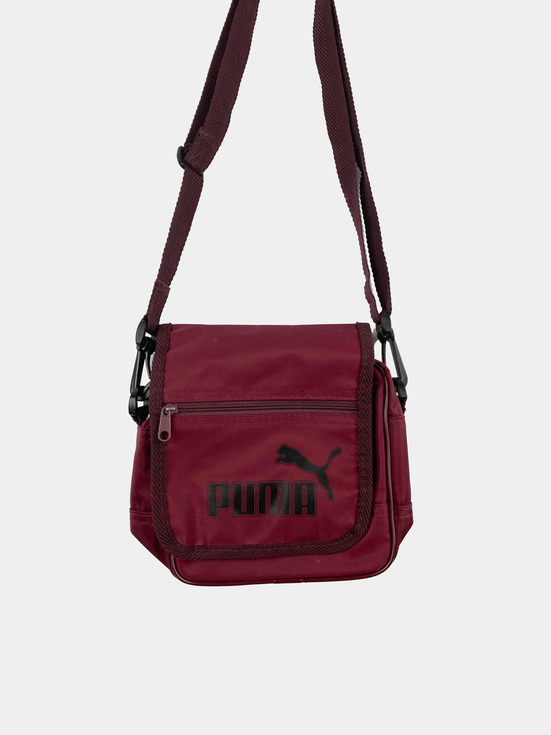 Vintage Puma Crossbody Bag - Red