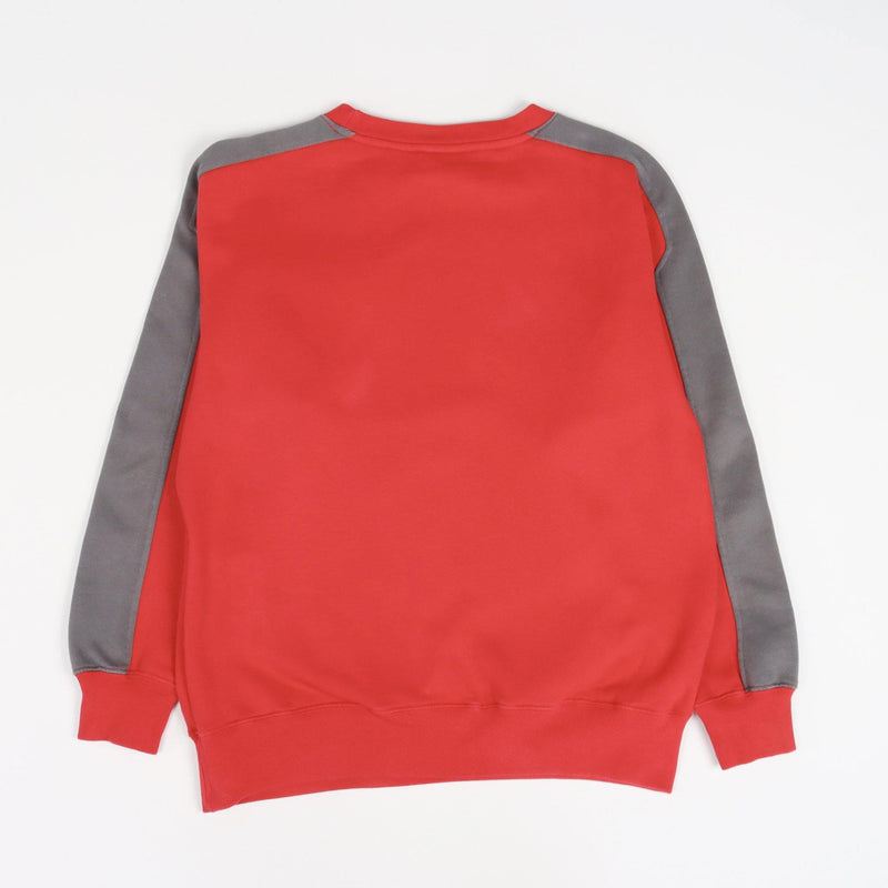 Vintage Reebok Spellout Sweater S - Red - ENDKICKS