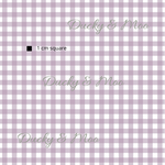 Load image into Gallery viewer, Light Purple Gingham RETAIL