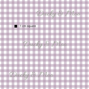 Light Purple Gingham RETAIL