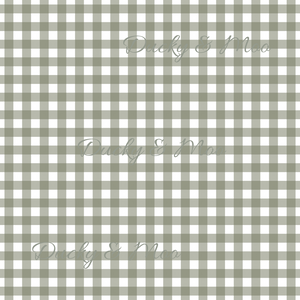 Olive Gingham RETAIL
