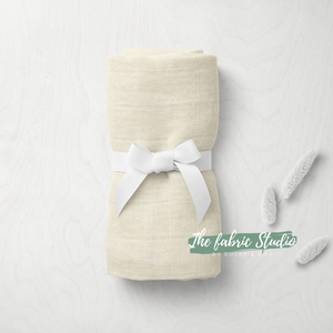 Bamboo Swaddle - Cream