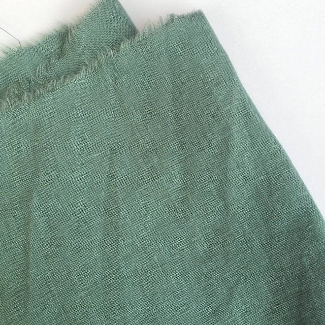 Pure French Linen - Olive 280cm