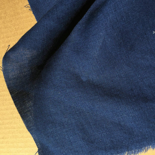 Pure French Linen - Navy 280cm