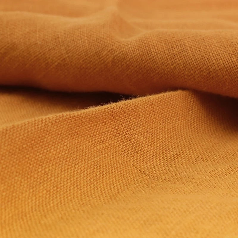 Pure French Linen - Mustard