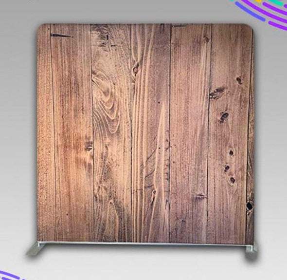 8' X 8' WOOD WRINKLE FREE BACKDROP WITH FRAME STAND KIT
