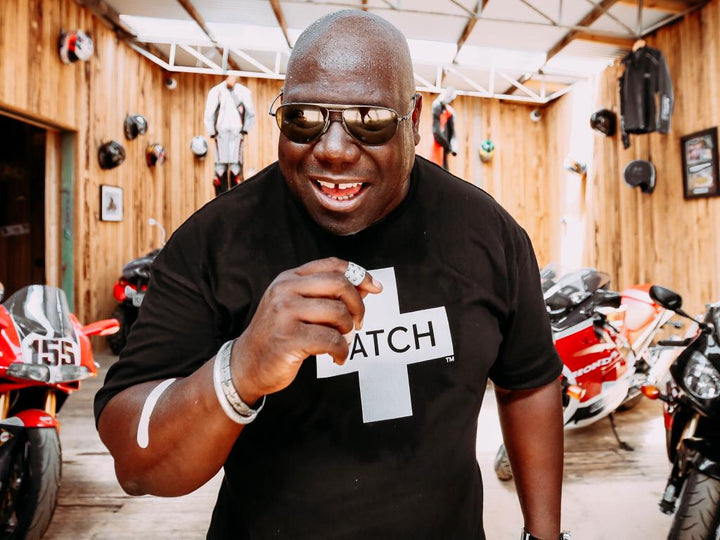 Global DJ Carl Cox Joins Forces with Organic Bamboo Bandages, Patch