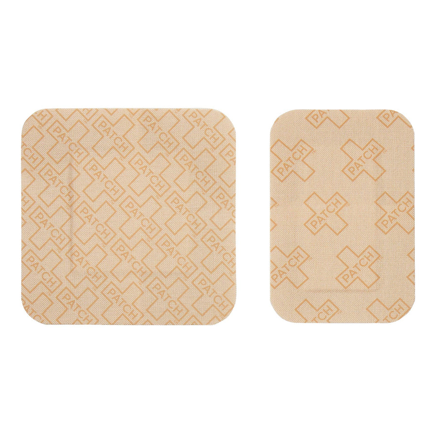 PATCH Natural Bamboo Bandages - Large Square and Rectangles - 10 pack