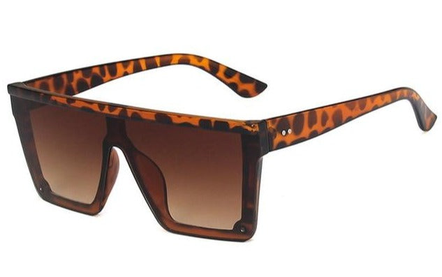 Safety Square Retro Sunglasses