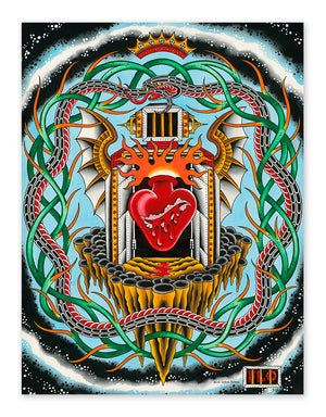 """The Essence"" - Flo Kraemer - Tattoo Art Print - Beyond Tradition -Tattoo print"