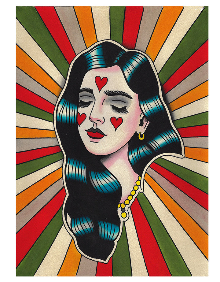 Full of Love - Patryk Hilton - Beyond Tradition -Tattoo print