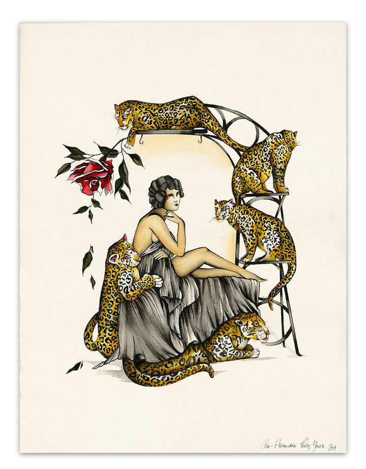Cheetahs - Pia Alexandra - Beyond Tradition -Tattoo print