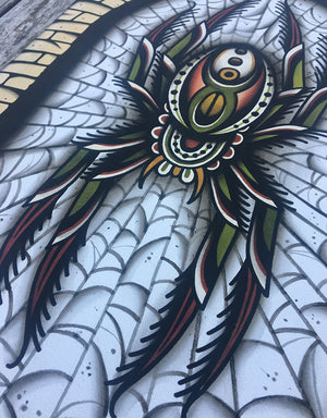 """Spider"" - Sascha Friederich - Beyond Tradition -Tattoo print"