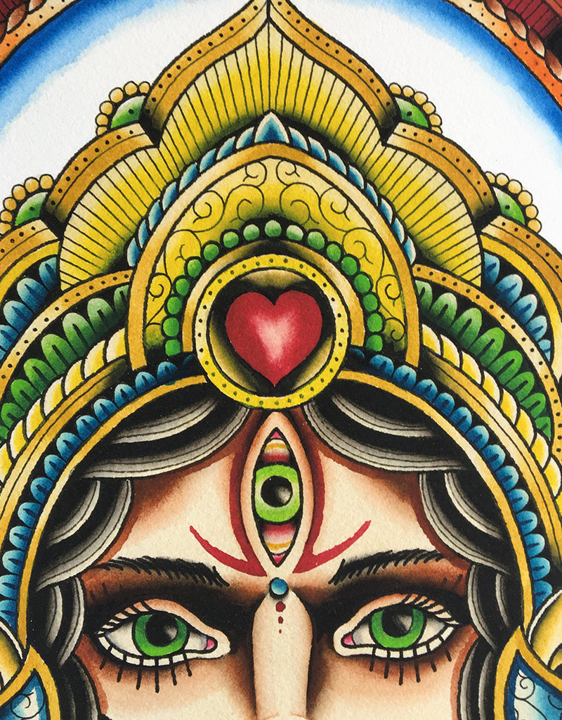 Kali - Nick Knatterton - Beyond Tradition -Tattoo print