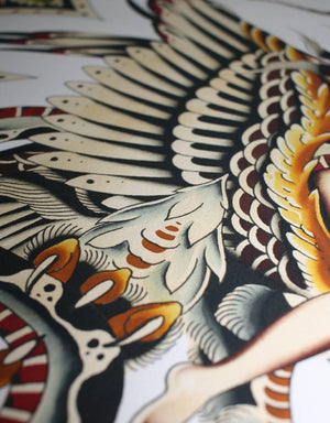 """Battle Royale"" - Clemens Hahn - Beyond Tradition -Tattoo print"