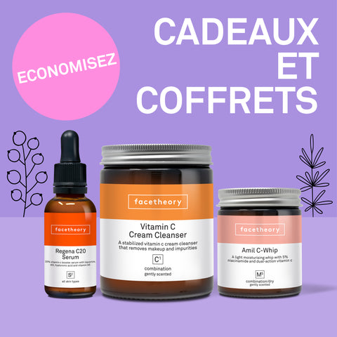 Collections - Skincare Gifts and Kits - Cadeaux et coffrets