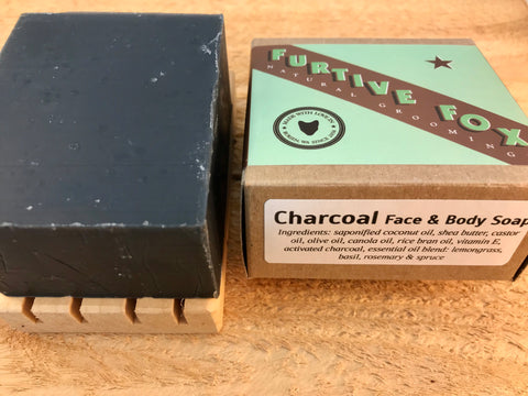 Charcoal Face & Body Soap