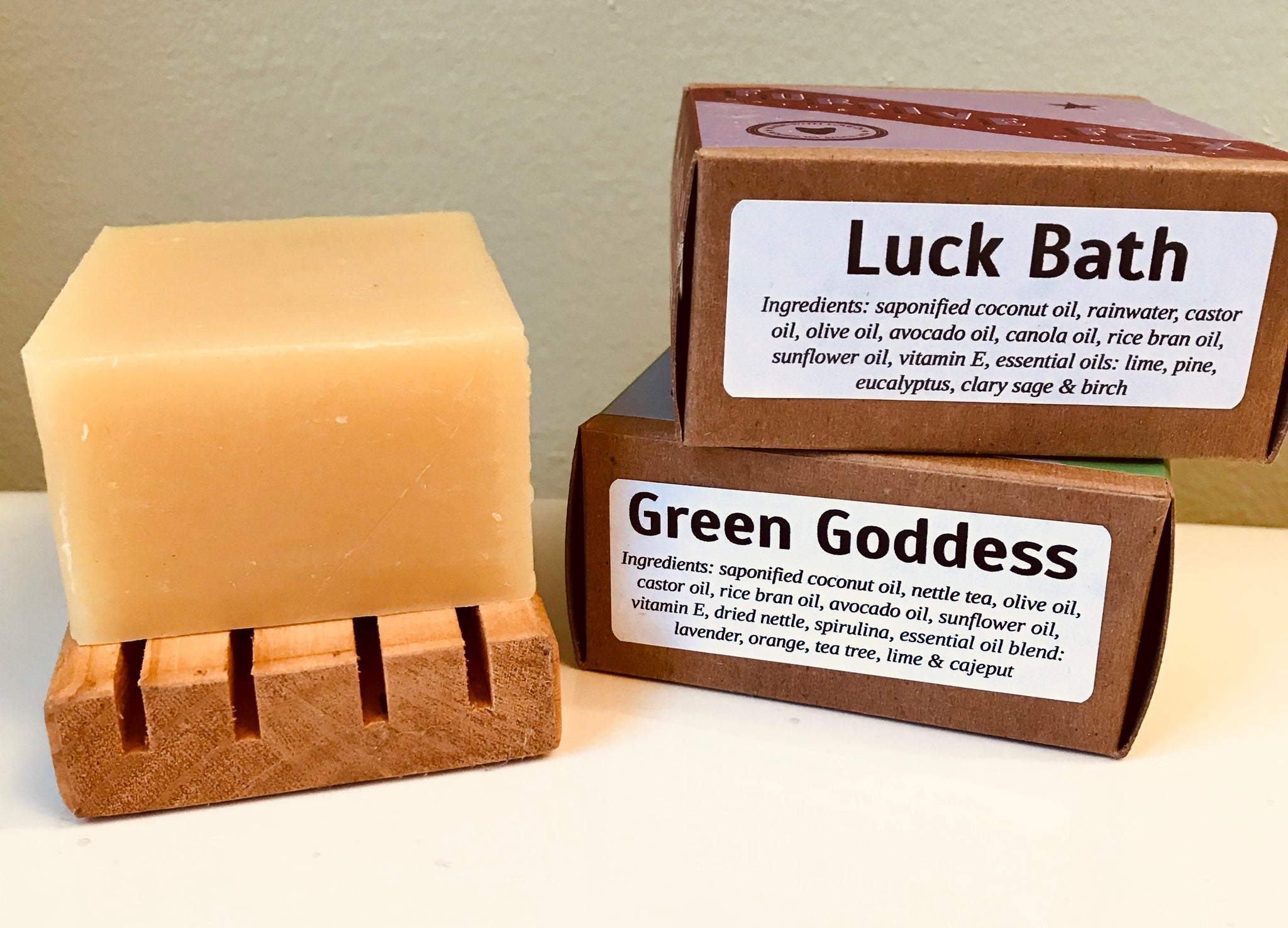Two bars of soap for $13