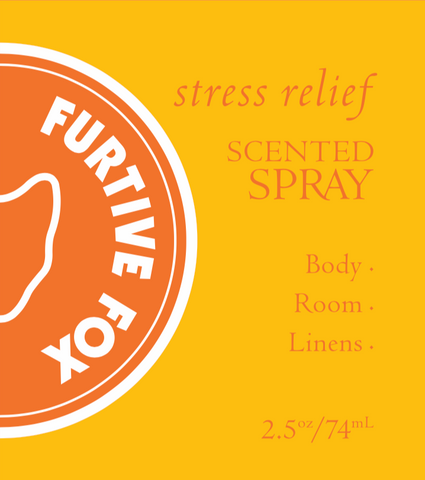 Stress Relief Scented Spray