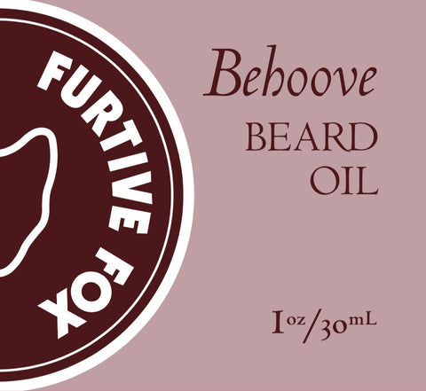 BEHOOVE beard oil