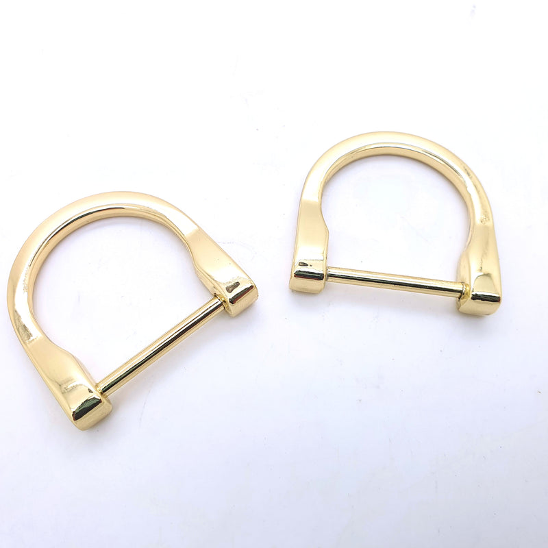2 x D-Rings 1.5cm or 2.5cm