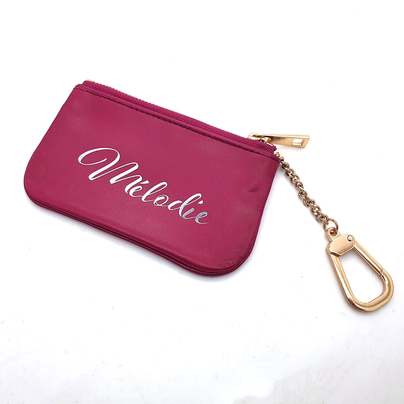 Genuine Leather Key pouch - 4 Colors