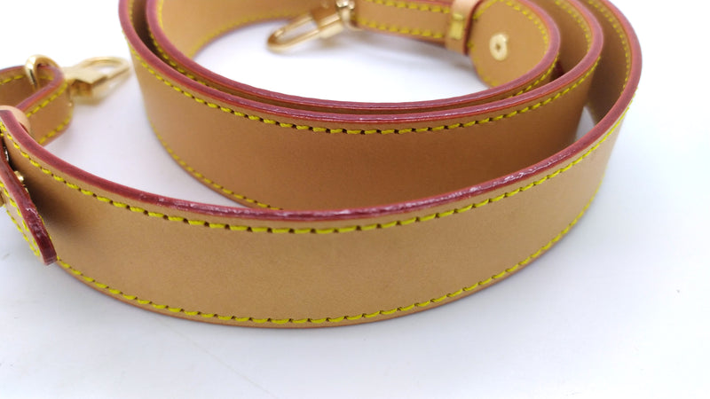 Honey Vachetta Leather Large Strap 30mm (Burgundy Glazing)