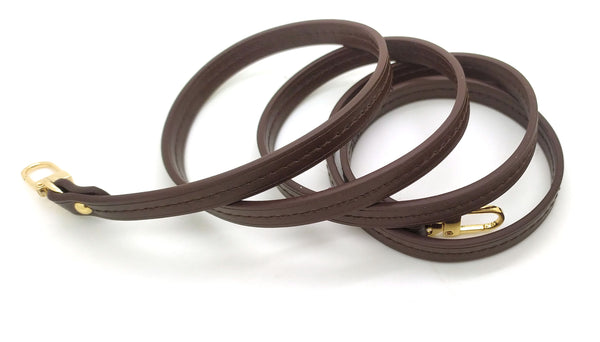 Dark Brown Leather Strap 10mm (Middle stitching)