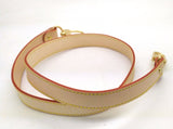 Natural Vachetta LEATHER SHOULDER STRAP 25MM X 90CM