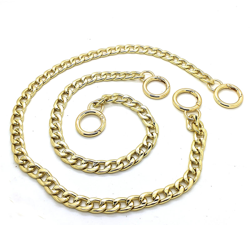 Large Golden Decorative Chain from 25cm to 60cm