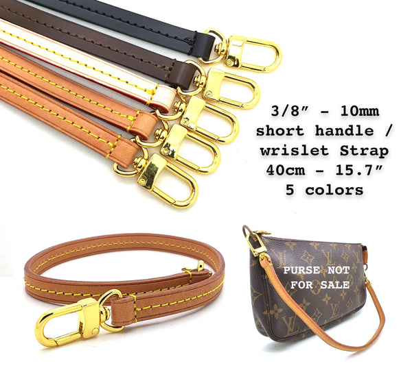 Honey Vachetta Leather Strap 7mm (clear glazing)