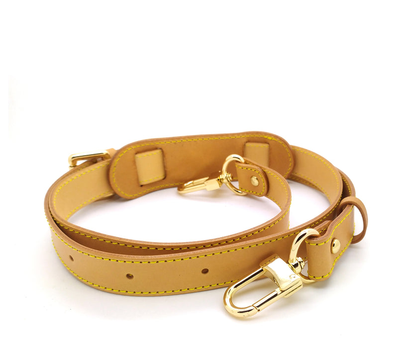 <transcy>Tali Madu Vachetta Leather Adjustable 25mm (kaca yang jelas)</transcy>