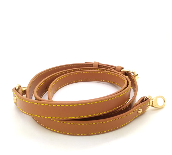 Coated Leather Adjustable Strap 14mm