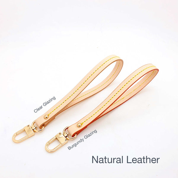 Genuine leather wristlet Strap