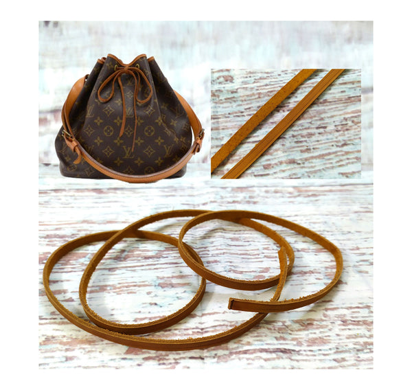 Tanned Cowskin Leather Drawstring Cord 6mm