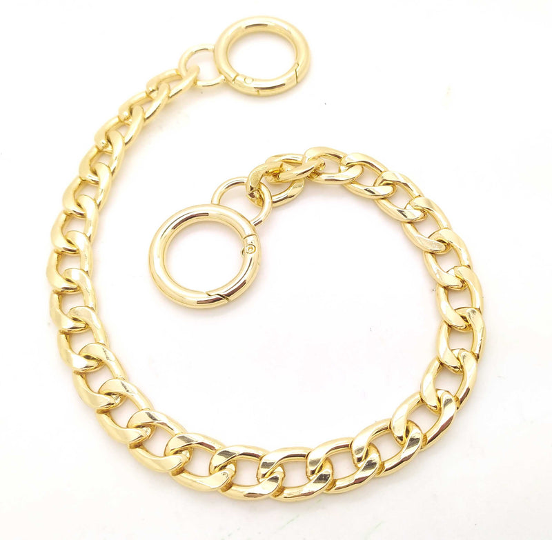 Silver or Golden Large Decorative Chain 1 x 34 cm