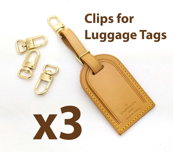 3 x Clips to attach your Luggage Tag