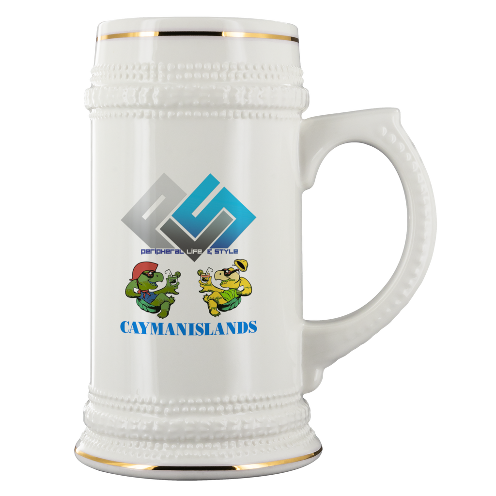 PLS Cayman Turtle Beer Stein