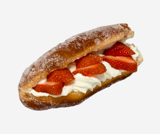 Strawberry Chantilly Cream Beignet