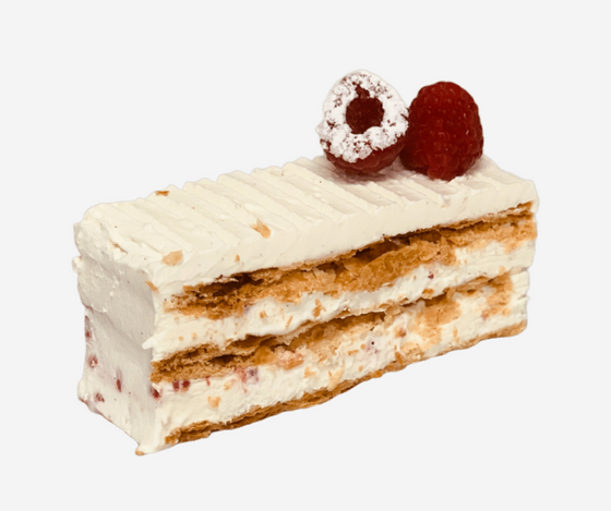 Raspberry Chantilly Millefeuille