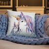 Collection coussins licorne